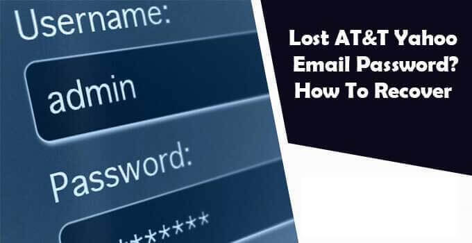 Lost-AT&T-Yahoo-Email-Password